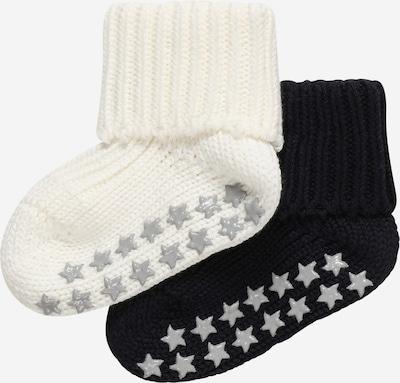 FALKE Chaussettes 'Catspads' en gris / noir / blanc, Vue avec produit