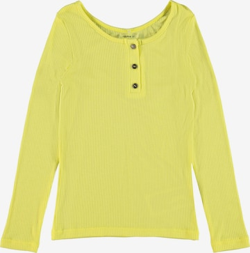 NAME IT Shirt 'Hannelise' in Gelb