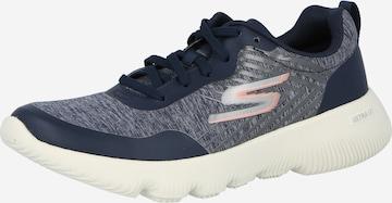 Sneaker low 'GO RUN' de la SKECHERS pe albastru