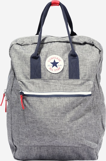 CONVERSE Backpack 'FOUNDATION' in navy / grey mottled, Item view