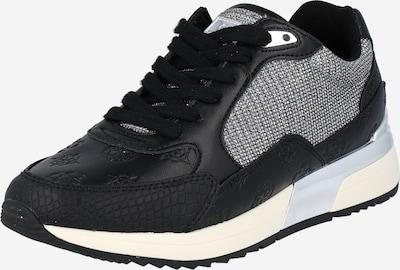 fekete / fehér GUESS Rövid szárú edzőcipők, Termék nézet