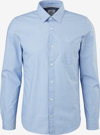 Marškiniai iš s.Oliver , spalva - šviesiai mėlyna, Prekių apžvalga