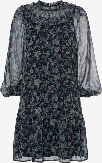 zero Kleid in nachtblau / mischfarben, Produktansicht