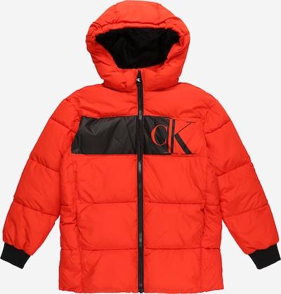 Calvin Klein Jeans Prijelazna jakna u crvena / crna, Pregled proizvoda