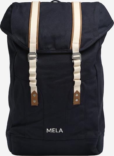 MELAWEAR Sac à dos en crème / bleu marine, Vue avec produit