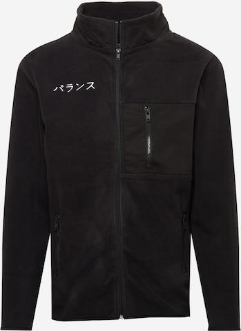 Denim Project Fleece jacket in Black