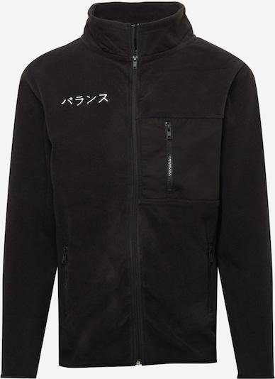 Denim Project Fleece jas in de kleur Zwart, Productweergave