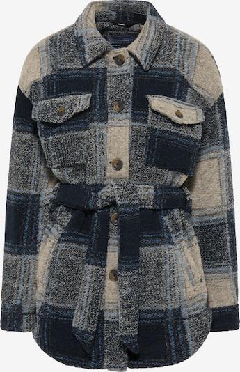 DreiMaster Vintage DreiMaster Vintage Übergangsjacke in beige / blau, Produktansicht