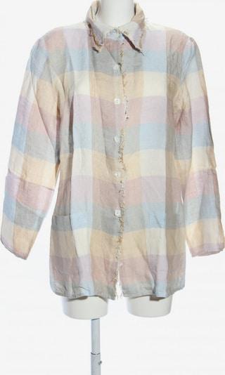 ZUCCHERO Hemd-Bluse in XL in creme / blau / pink, Produktansicht