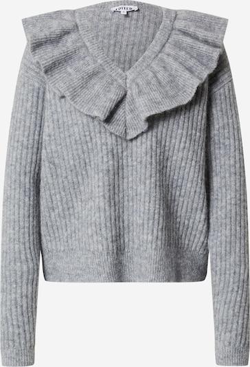 EDITED Pullover 'Friederike' in graumeliert, Produktansicht