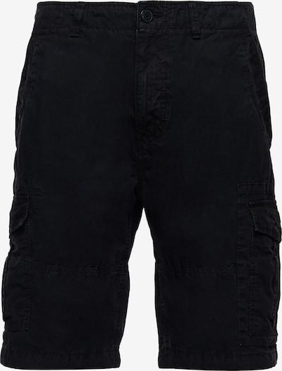 Superdry Pantalon cargo en noir, Vue avec produit