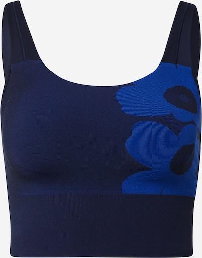 ADIDAS PERFORMANCE Sport-BH in blau / navy, Produktansicht