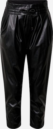 Karo Kauer Bandplooibroek in de kleur Zwart, Productweergave