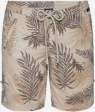 JACK WOLFSKIN Shorts 'Pomona' in grau / rauchgrau, Produktansicht