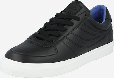 Sneaker low SUPERGA pe negru, Vizualizare produs