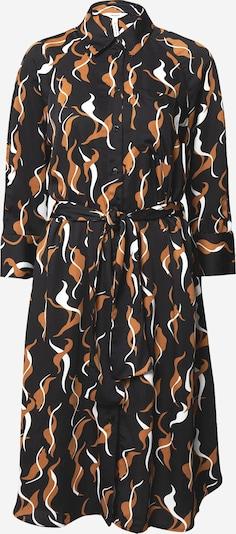 OBJECT Košulja haljina 'Helena' u smeđa / crna / bijela, Pregled proizvoda