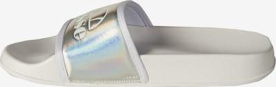 ELLESSE Badesandale in silber / weiß, Produktansicht