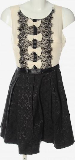 Danity A-Linien Kleid in S in creme / schwarz, Produktansicht