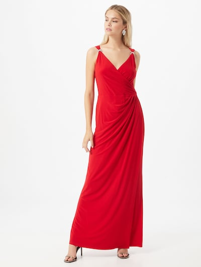 Lauren Ralph Lauren Kleid 'Maris' in rot, Modelansicht