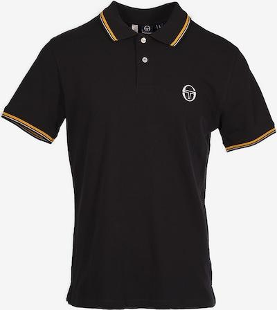 Sergio Tacchini Functioneel shirt in de kleur Geel / Zwart / Wit, Productweergave