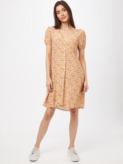LTB Kleid 'NIYOZO' in mischfarben / hellorange, Modelansicht