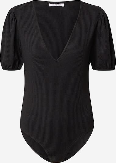 GLAMOROUS Shirtbody in schwarz, Produktansicht