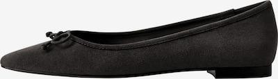 MANGO Ballerina 'Pepa' in schwarz, Produktansicht