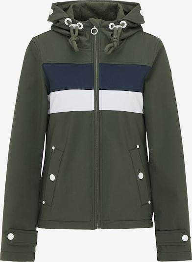 DreiMaster Maritim Functionele jas in de kleur Nachtblauw / Olijfgroen / Wit, Productweergave