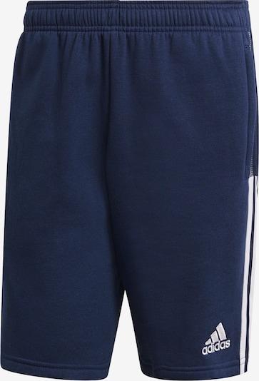 ADIDAS PERFORMANCE Hose in dunkelblau / weiß, Produktansicht