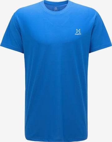 T-Shirt fonctionnel 'L.I.M Tech' Haglöfs en bleu