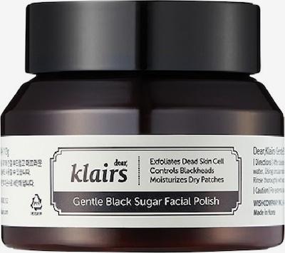 Klairs Gesichtpeeling 'Gentle Black Sugar Facial Polish' in braun, Produktansicht