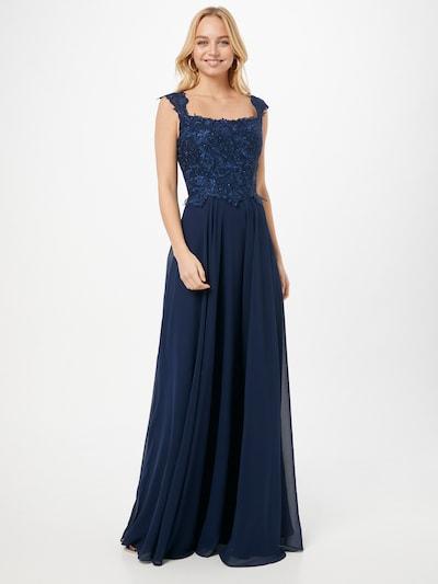 LUXUAR Abendkleid in navy, Modelansicht