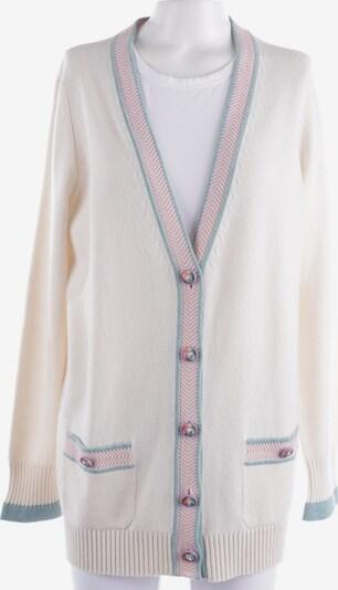 CHANEL Pullover / Strickjacke in L in weiß, Produktansicht