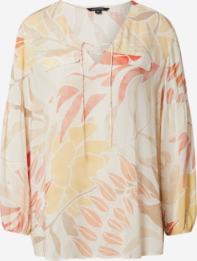 COMMA Blouse in Beige / Light brown / Light yellow / Peach / Red, Item view