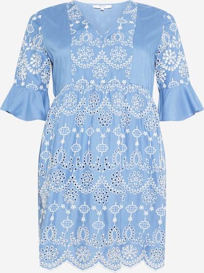 ABOUT YOU Curvy Robe 'Bianca' en bleu / blanc, Vue avec produit