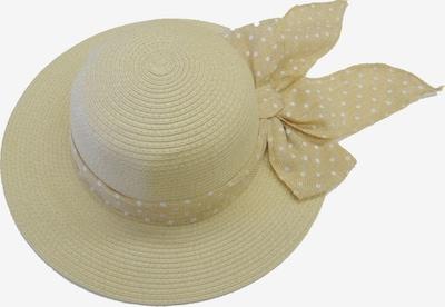 Chaplino Strohhut in beige, Produktansicht