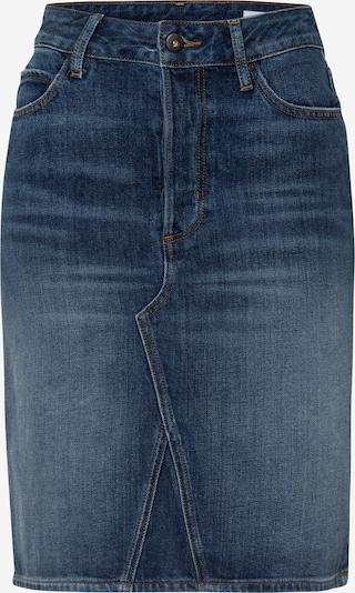 Cross Jeans Rock 'Ellie' in blue denim, Produktansicht