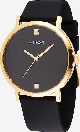GUESS Analogna ura | zlata / črna barva, Prikaz izdelka