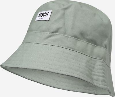 MOSS COPENHAGEN Hat 'Balou' i mint / hvid, Produktvisning