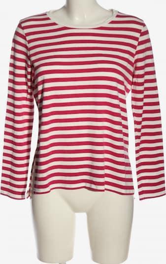 Joseph Janard Langarm-Bluse in M in rot / weiß, Produktansicht