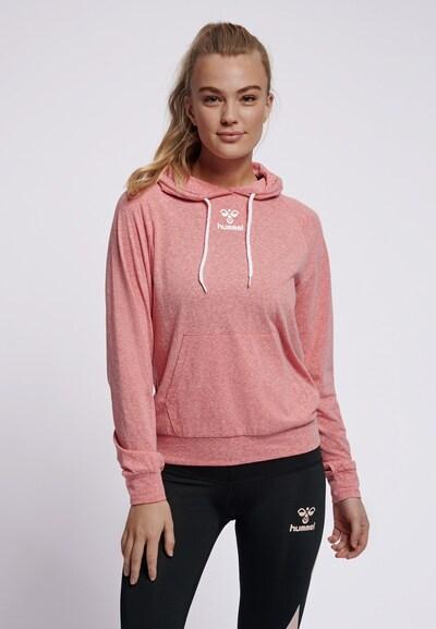 Hummel Hoodie in pink, Modelansicht