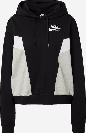 Nike Sportswear Bluzka sportowa 'Heritage' w kolorze nakrapiany szary / czarny / białym, Podgląd produktu