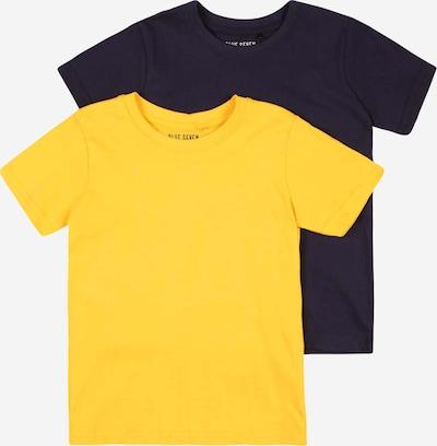 BLUE SEVEN T-Krekls naktszils / dzeltens, Preces skats