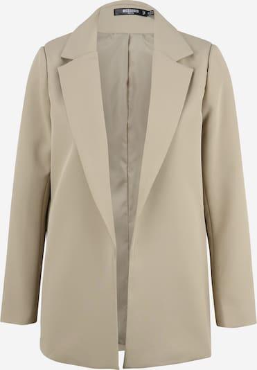 Missguided Petite Blazer in khaki, Produktansicht