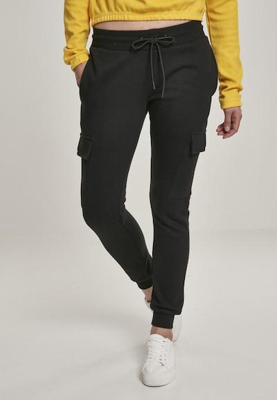 Urban Classics Pantalón en negro, Vista del modelo