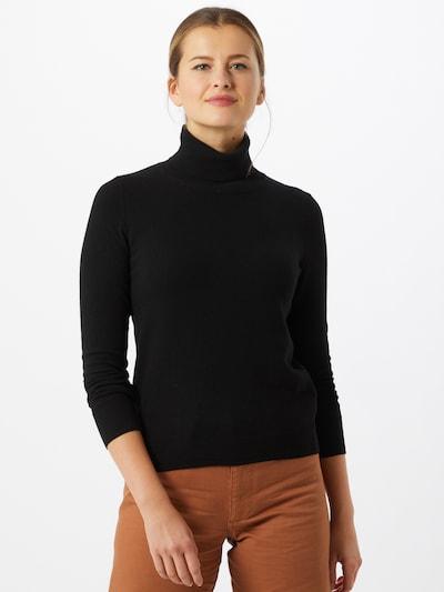 UNITED COLORS OF BENETTON Pulover u crna: Prednji pogled