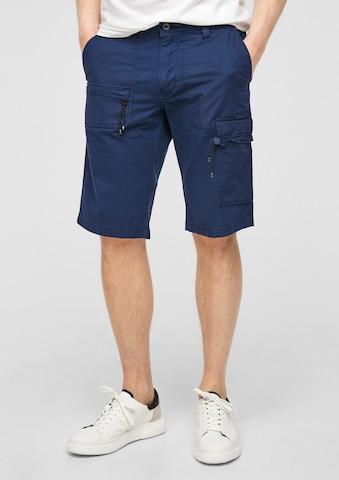s.Oliver Klapptaskutega püksid, värv sinine