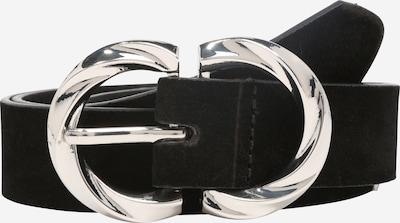 PIECES Cinturón 'Oleen D2D' en negro / plata, Vista del producto
