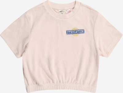 Gina Tricot Mini T-Shirt en bleu / jaune / rose, Vue avec produit
