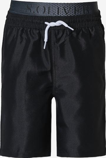 s.Oliver Zwembroek in de kleur Zwart, Productweergave